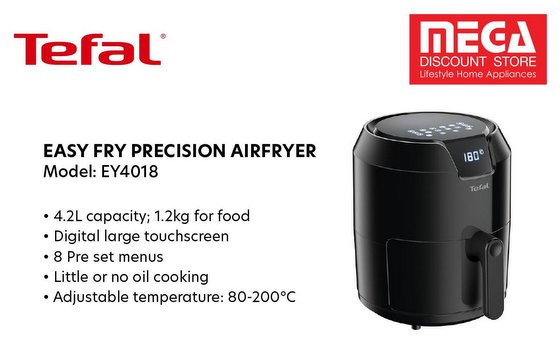 Tefal Fry Easy Precision Airfryer.