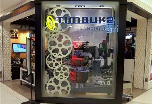 Timbuk2 bag store Bugis Junction Singapore.