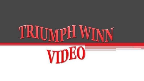 Triumph WINN video & DVD rental store Singapore.
