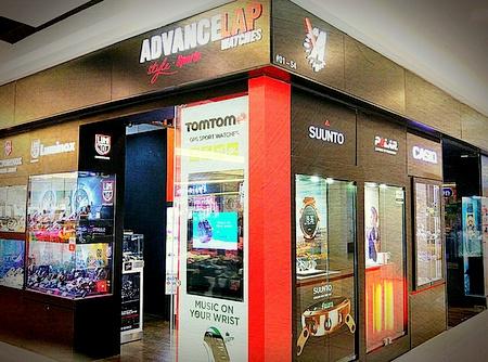 Advance Lap watch store Leisure Park Kallang Singapore.