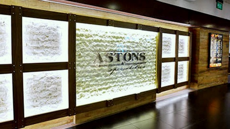 Astons Specialties steakhouse restaurant The Cathay Singapore.