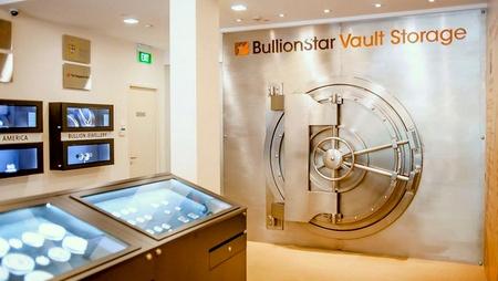 BullionStar gold vault Singapore.