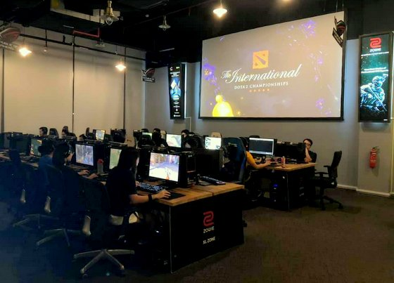 Colosseum - LAN Gaming in Singapore - Downtown East.