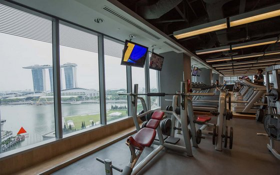Best Fitness Centres in Singapore - One Raffles Quay.