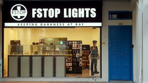 Fstop Lights flashlights shop Kovan Singapore.