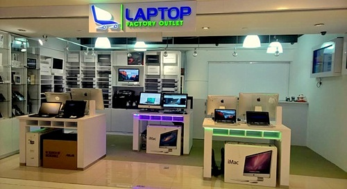 Laptop Factory Outlet store Bugis Junction Singapore.