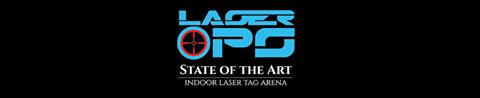 LaserOPS indoor laser tag arena Singapore.