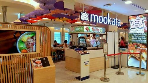 Mookata Thai BBQ restaurant Bugis Junction Singapore.