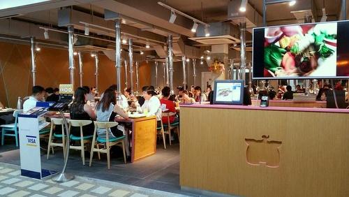 Mookata Thai BBQ restaurant Singapore.