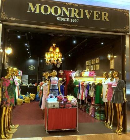 Moonriver clothing shop HarbourFront Centre Singapore.