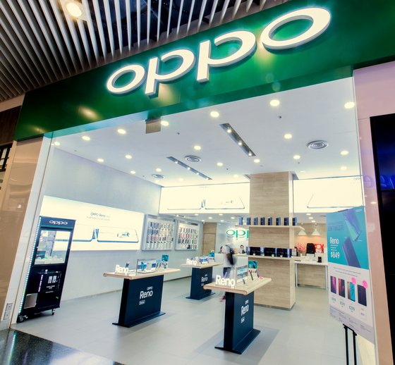 OPPO Mobile Phone Shops in Singapore - Jurong Point.