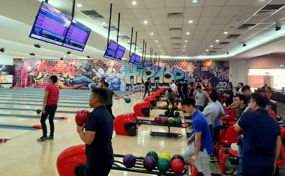 Orchid Bowl - Bowling Centres in Singapore - SAFRA Yishun.