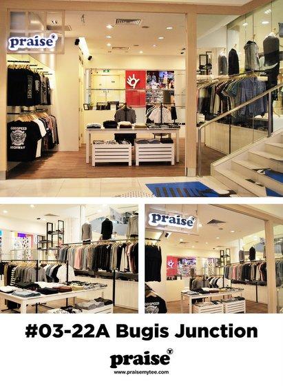 Praise clothing - Bugis Junction.
