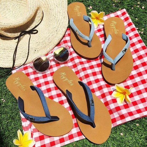 Ripples Ella Arch Support Ladies Sandals - Flip Flop Sandals Singapore.