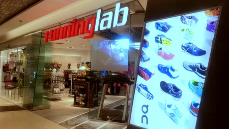 Running Lab Tampines Mall - Running Equipment in Singapore.