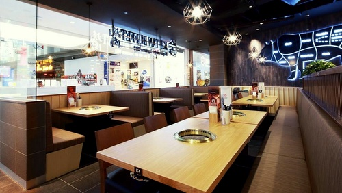 Shaburi & Kintan Buffet all-you-can-eat Japanese restaurant JEM Singapore.