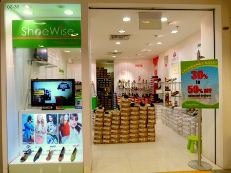 ShoeWise by Marton-Bell shoe store Novena Square Singapore.