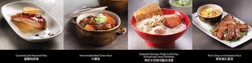 SIFU Hong Kong restaurant's signature meals Singapore.