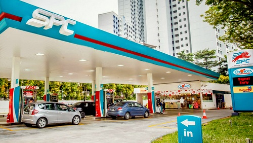 SPC Petrol Stations in Singapore.