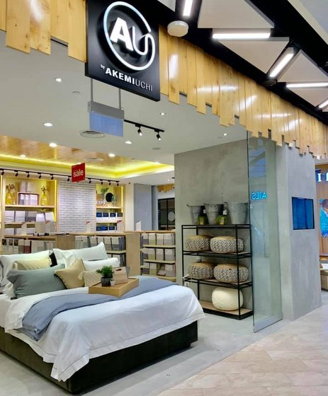 AU by AKEMIUCHI - Plaza Singapura - Bedding Stores in Singapore.