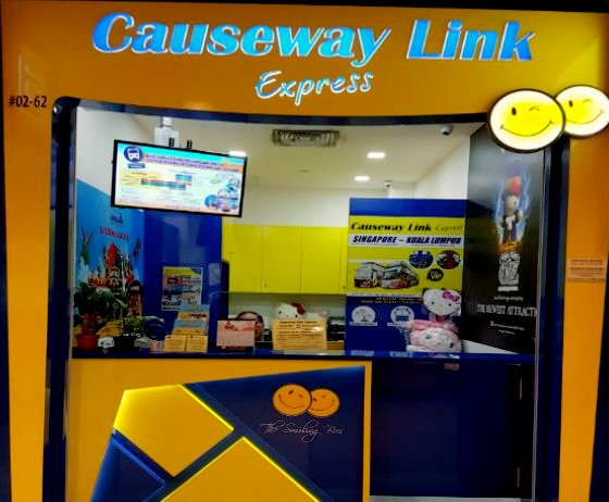 Causeway Link Express IMM - Buses to Malaysia in Singapore.