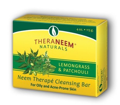 TheraNeem Lemongrass Patchouli & Neem Oil Soap - NeemShop Ayurvedic Centre - Ayurvedic Shops in SIngapore.