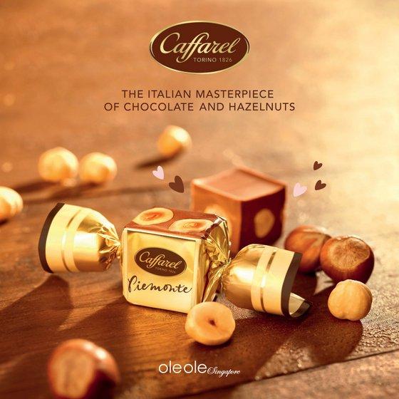 Caffarel Chocolate Singapore.