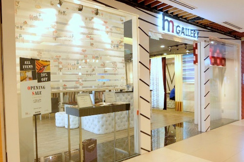 H. M. Gallery - Customized Curtains in Singapore - IMM Building.