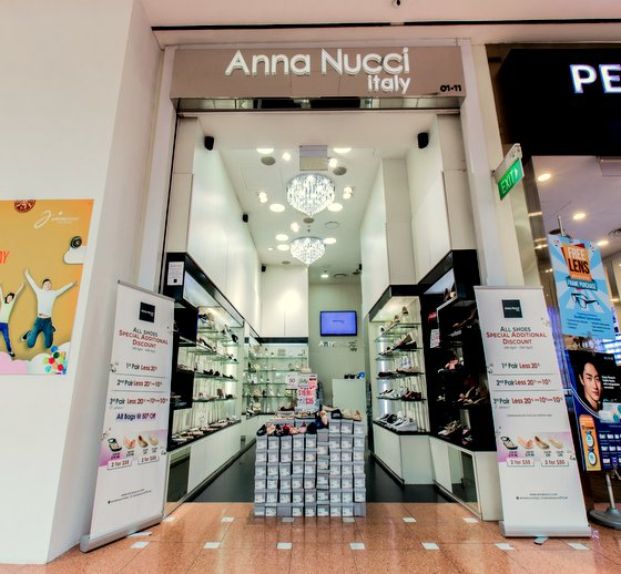 Anna Nucci - Wedding Shoes for Bride in Singapore - Jurong Point.