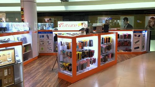 Future Pro mobile accessories and mobile repair shop Plaza Singapura Singapore.