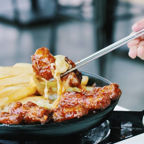 Rolling Cheese Pork Ribs Singapore.