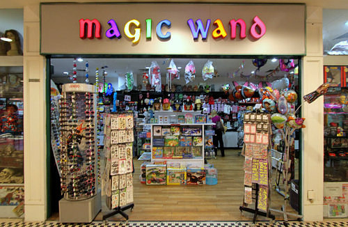 Magic Wand shop, located within Tanglin Mall shopping centre in Singapore.