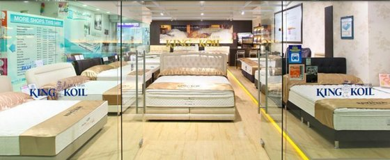King Koil mattress shops in Singapore - The Furniture Mall.