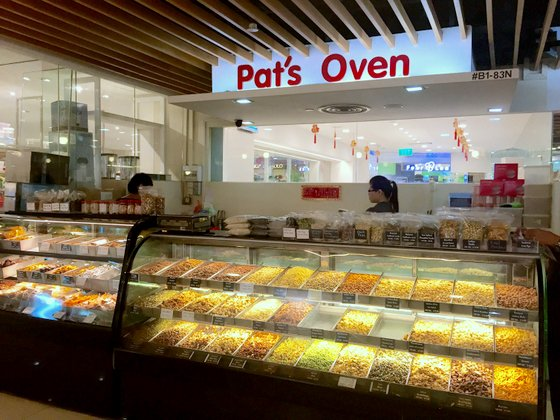 Pat's Oven - Seeds and Nuts Shop in Singapore - Parkway Parade.