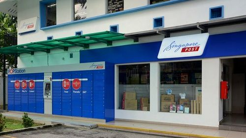 POPStation at Simpang Bedok Post Office in Singapore.