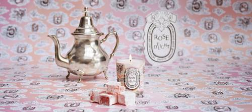 Diptyque Rose Delight scented candle, available in Singapore.