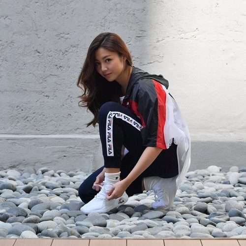 FILA sportswear clothing, available in Singapore.
