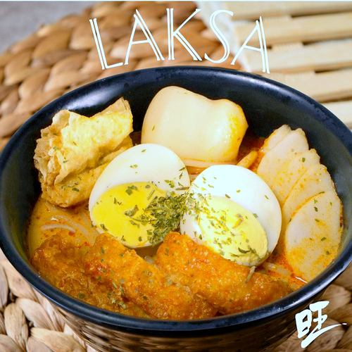 Heavenly Wang cafe's Laksa meal, available in Singapore.