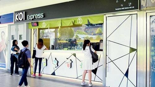 KOI Express Singapore - Tampines MRT.