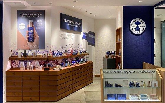 Organic Cosmetics in Singapore - Neal's Yard Remedies - TANGS at Tang Plaza.