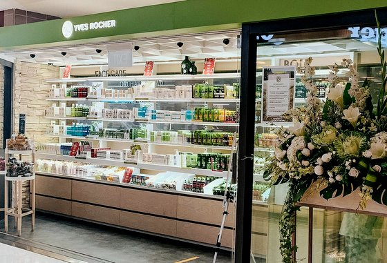 Yves Rocher - Ngee Ann City - Botanical Beauty Products in Singapore.