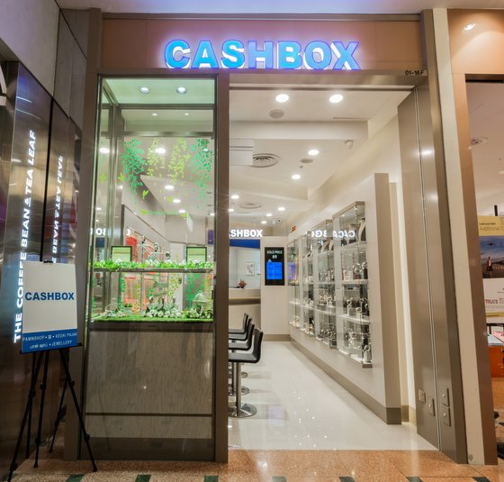 Cash Box Pawn Shop in Singapore - Jurong Point.