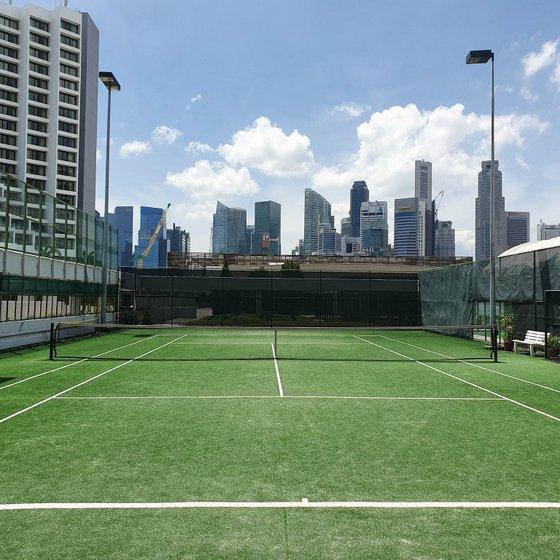 MBP Sports - Tennis Court in Singapore - Marina Tennis Center.