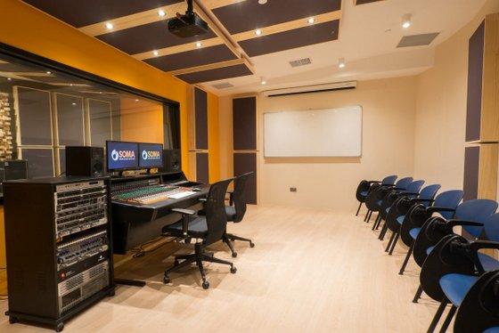 School of Music and the Arts Recording Studio in Singapore - Marina Square.