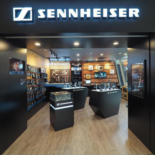 Sennheiser - Headphones in Singapore - Marina Square.