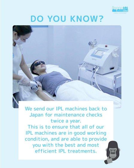 IPL Treatments in Singapore - Japan IPL Express.