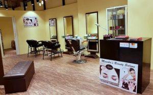 Menakas Bridal & Beauty salon in Singapore.