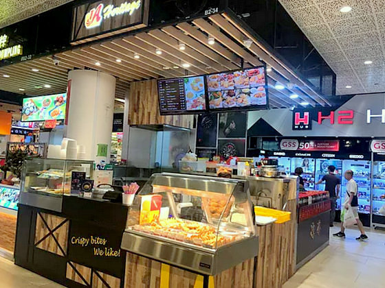 1A Crispy Puffs - Curry Puffs in Singapore - AMK Hub.
