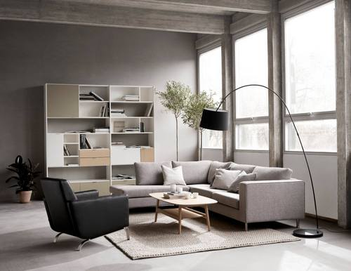BoConcept furniture, available in Singapore.