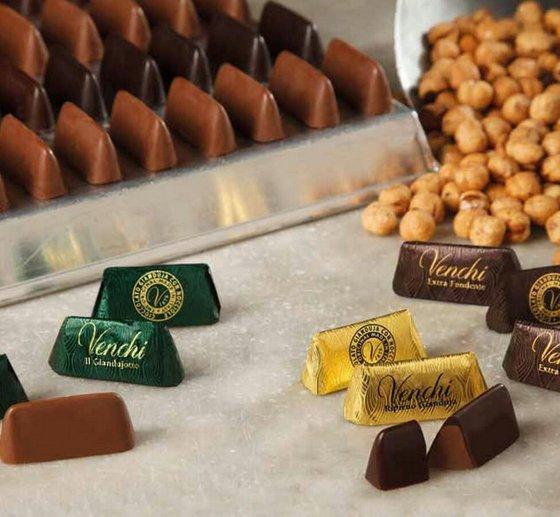 Gianduja Chocolate in Singapore - Venchi Italian Chocolate Shop in Singapore.